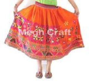 Vintage Banjara Embroidered Skirt