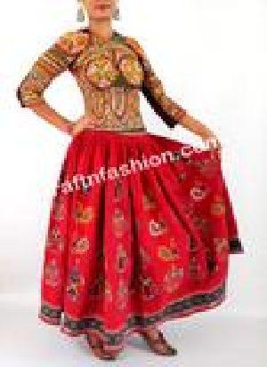 Vintage Women's Banjara Rabari Skirt