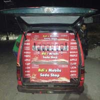 Soda Machine In Maruti Car