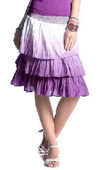 Ladies Knee Skirt