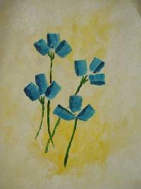 Flowers in Oil