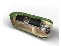 Biodisc Bd-bl Commercial Sewage Treatment Plant
