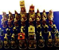 Handmade Camel Bone Chess Set