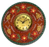 SKU-EIIW0041 Handmade Wooden Round Wall Clock