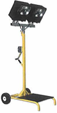 Model XP2400-50P/WS Hazardous Location Light on Wheel Stand