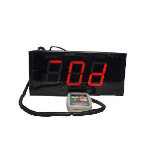 Digital Token Display System