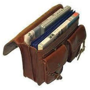 Dark Brown Leather Executive Bag