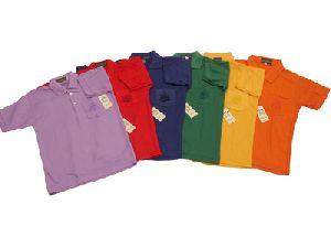 Boys Plain Polo T-shirts