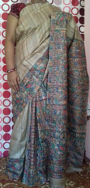 Madhubani Painted Sarees