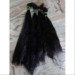 Non Remy Single Drawn Human Hair