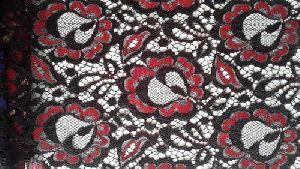 Raschel Jacquard Fabric