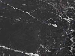 Alcantara Black Granite Slab