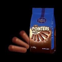Mini Pointers Chocolate Flavored Coated Biscuit