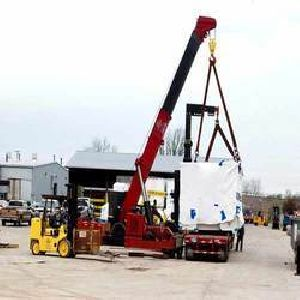 Heavy Machinery Unloading Services