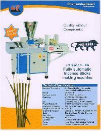 8g Jet Speed Fully Automatic Agarbatti Making Machine