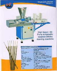 6g high speed fully automatic agarbatti making machine