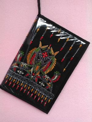 Embroidered File Covers