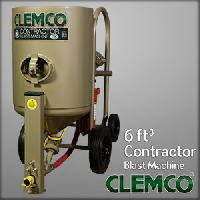 Clemco 6 Cu Ft Contractor Blast Machine