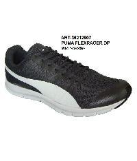 PUMA FLEXRACER DP Black Running Shoes
