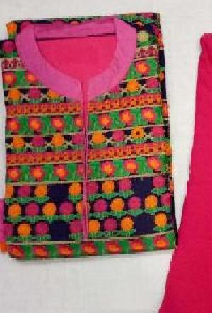 Ladies Unstitched Embroidered Suits