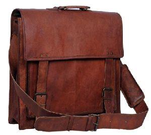 Ph011 Leather Laptop Bag
