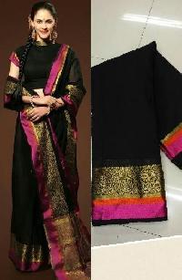 Black Pattu Sarees