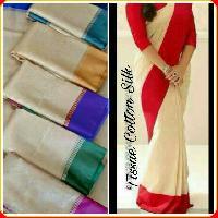Tissue Cotton Silk Sarees