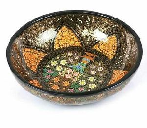 Hand Painted Fruit Bowl
