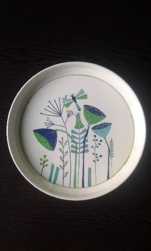 Hand Painted Round Plate