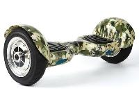 Gogohoverboard 10 Inch Military Green Self Balancing..