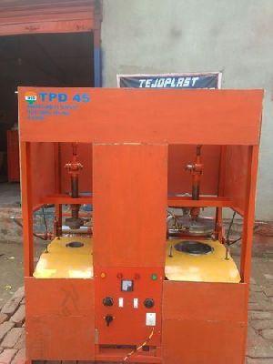 Semi Automatic Double Die Dona Making Machine