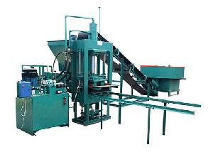 Semi Automatic Fly Ash Brick & Block Making Machine