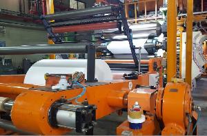 Thermal paper machine