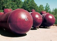 Industrial Chemical Storage Tanks