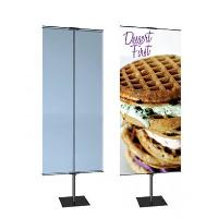 PROMO DOUBLE INDOOR BANNER STAND