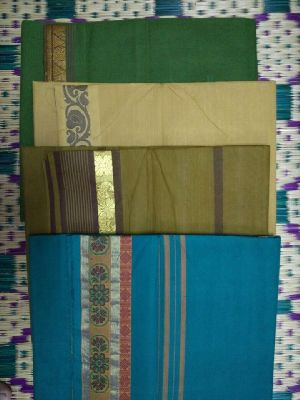 Cotton Powerloom Sarees