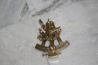 """4"""" Inch Full Brass Sundial"""
