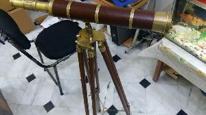 Wooden Stand Wooden Telescope