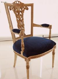CARVED BACK CHAIR