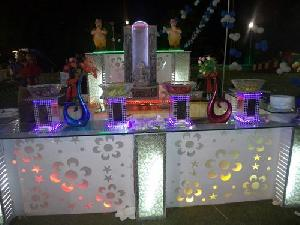 Wedding Buffet Tables