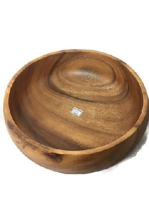 Acacia Wood Large Fruit Bowls