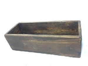 Reclaimed Rustic Wood Rectangle Boxes