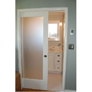 Bathroom PVC Glass Door