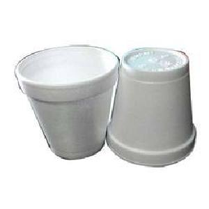 Disposable Plain Thermocol Cups