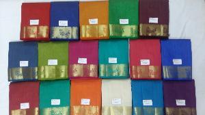 Tusser Silk Dyed Sarees