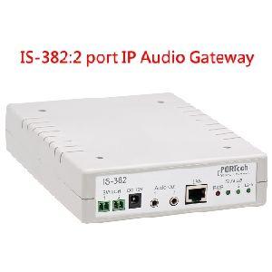 Portech Is-382 : 2 Ports Ip Audio Gateway (no Amplifier)
