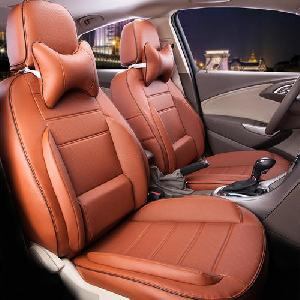 Leather Brown Car Seat Covers