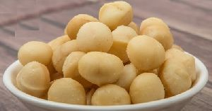 Raw organic chinese Macadamia nuts with shell and Without shell.