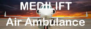 Low Cost Air Ambulance Service in Bagdogra by Medilift