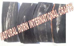 Genuine horn plates
